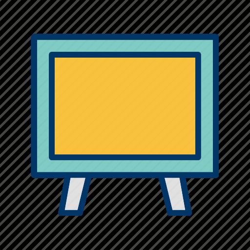 blackboard, board, chalkboard icon