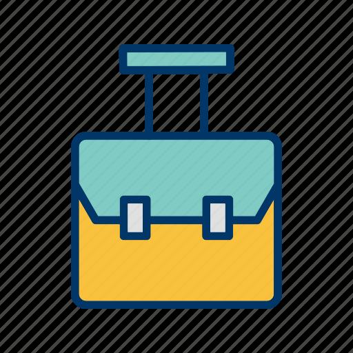 bag, bag pack, education icon
