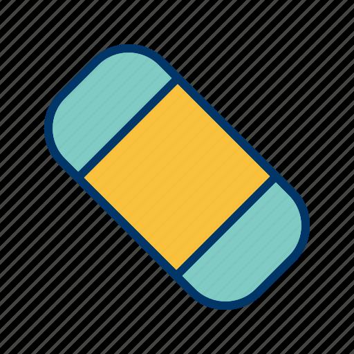 erase, eraser, remove, rubber icon