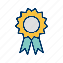 achievement, certificate, degree, diploma, reward, success icon