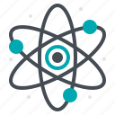 atom, laboratory, research, science, study icon
