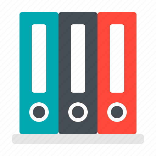 document, file, folder, office, supply icon