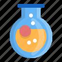 bottom, chemistry, flask, laboratory, research, round, testtube