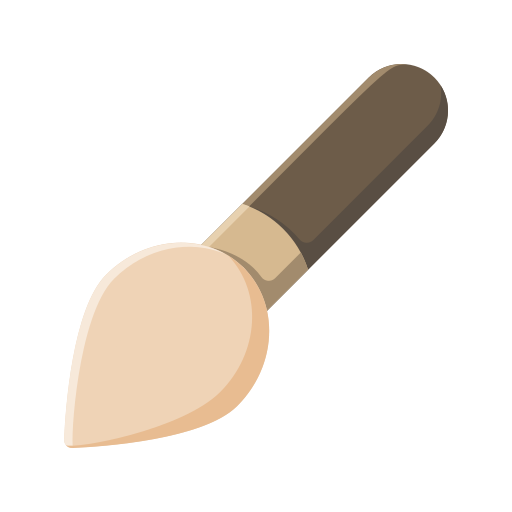 brush, education, learn, student, study icon
