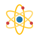atom, education, learn, school, student, study icon