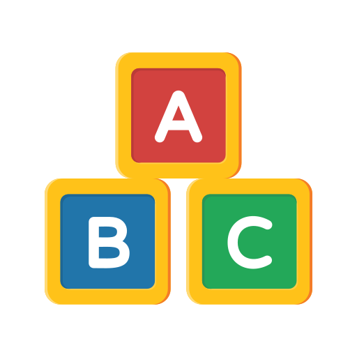 alphabet, education, learn, school, student, study icon