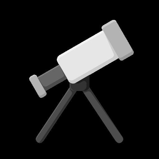 education, learn, school, student, study, telescope icon