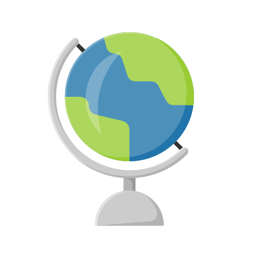 Education, globe, learn, school, student, study icon - Free download