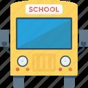 bus, school bus, travel, vehicle icon