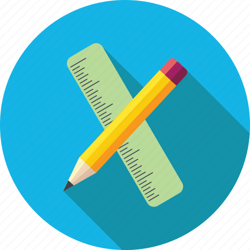 design, draw, drawing, edit, pencil, pencil and scale, scale, write icon