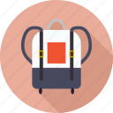 bag, business, buy, colorful bag, education, laptop bag, learning, school, shopping, study icon