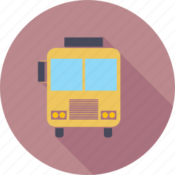 bus, education, learning, school, student, study icon