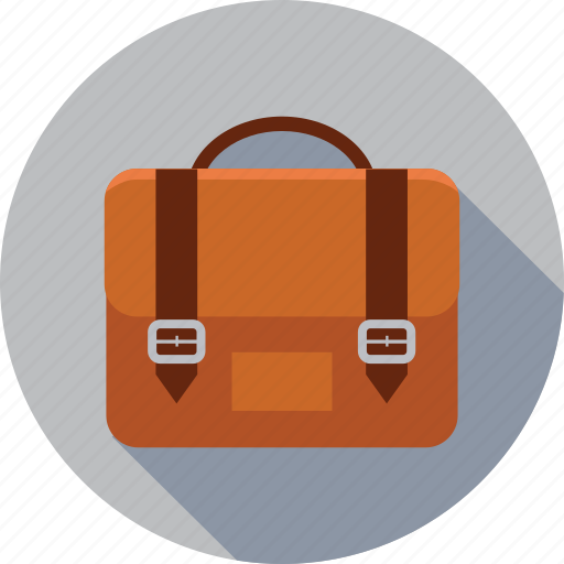 bag, briefcase, business, business bag, college, college bag, corporate bag, education, finance, learning, school, school bag, study icon