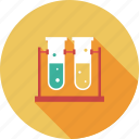 chemistry, experiment, lab, lab tube, laboratory, research, science, test, tube icon