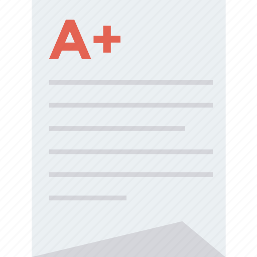 chart, exam, grade, mark, result, results, test icon icon