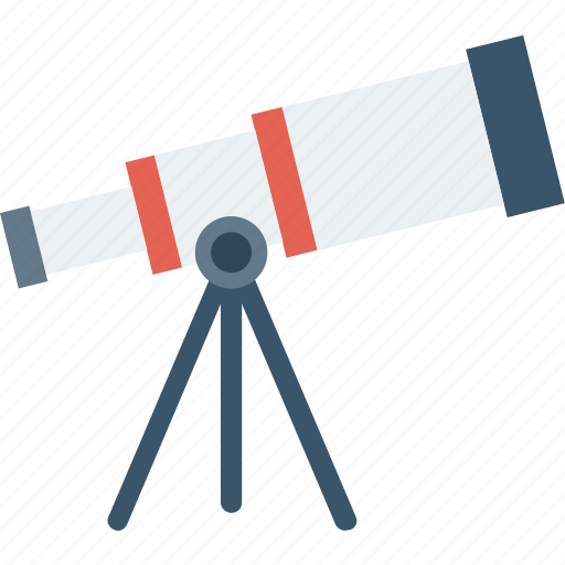 astronomy, scope, space, telescope icon icon