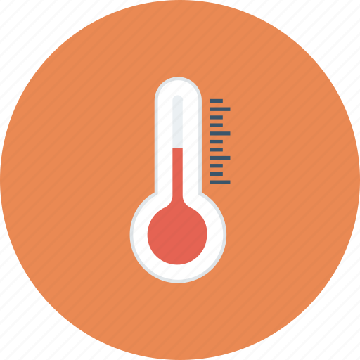 heat, temperature, temperature measurer, thermometer icon icon