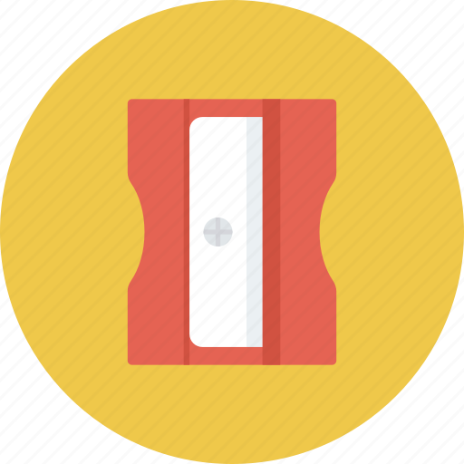 office, pencil, sharpener, stationery, tool icon icon