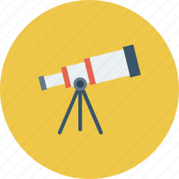 astronomy, scope, space, telescope icon icon