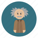 albert einstein, education, einstein, knowledge, learning icon