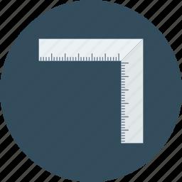 measure, measurements, ruler, scale icon icon