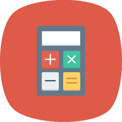 business, calculations, calculator, finance, math, numbers icon icon