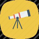 scope, astronomy, space, telescope icon