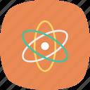 chemistry, experiment, science icon, atom, laboratory, education, physics