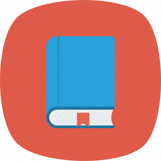 book, bookmark, education icon icon