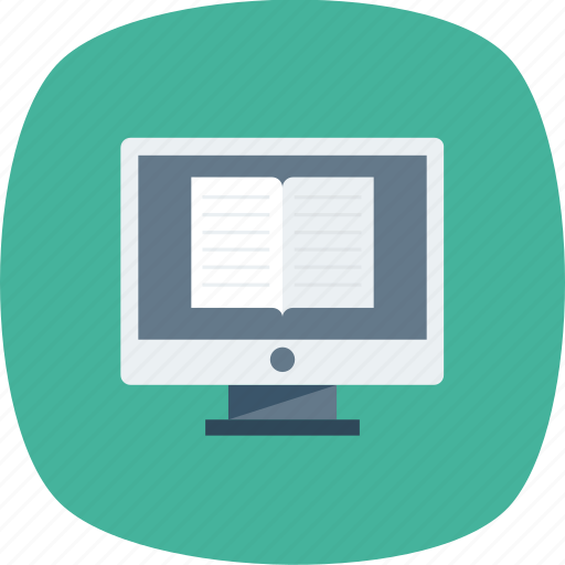 certificate, education, laptop, learning, online icon icon