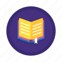 book, bookmark, textbook icon