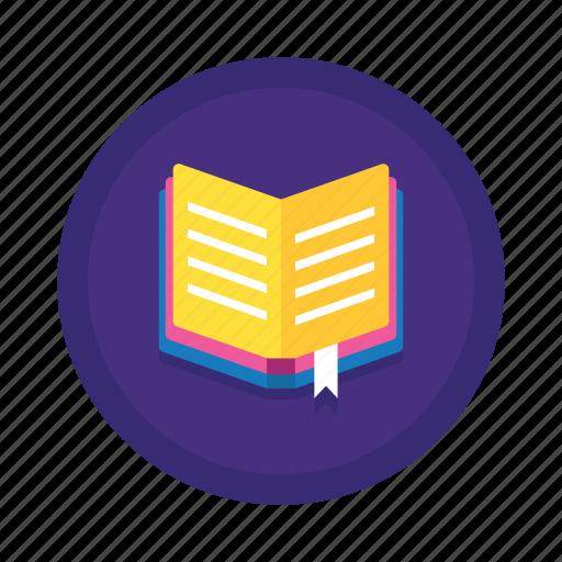 book, bookmark, textbook icon