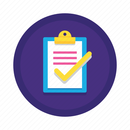 Checklist, complete, list, task, to do icon   512 x 512 png 29kB