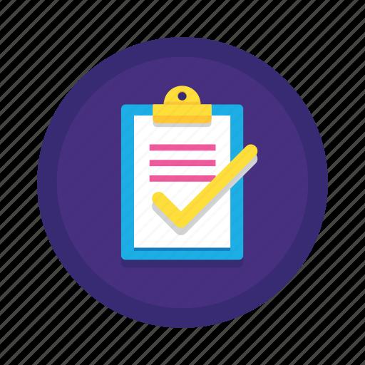 checklist, complete, list, task, to do icon