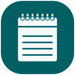 document, extension, files, notes, paper, sheet, text icon