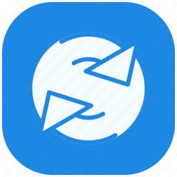 arrows, forward, refresh, reload, right, rotate, synchronize icon