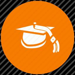 cap, graduation, graduation cap, knowledge, learning, student hat, university icon