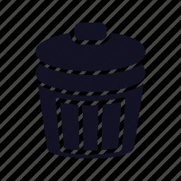 cancel, delete, dustbin, garbage, recycle, remove, trash icon