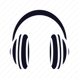 headphone, headphones, microphone, multimedia, speaker, voice icon