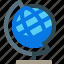 globe, school, geography, earth