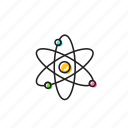 atom, chemistry icon