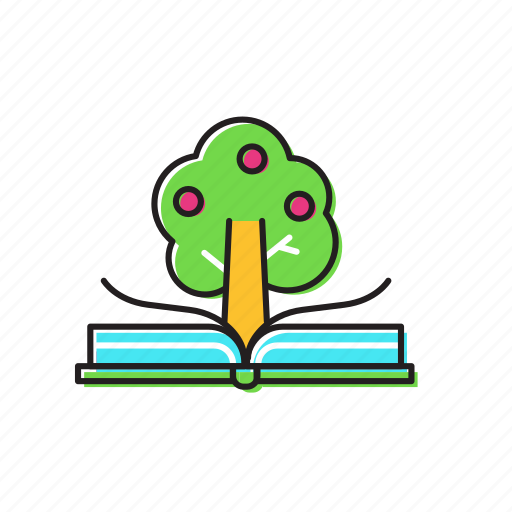 book, books, booktree, knowledge icon