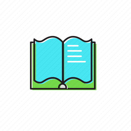 book, books, open icon