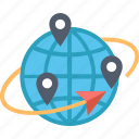 adventure, earth, geography, global, learning, places, travelling icon