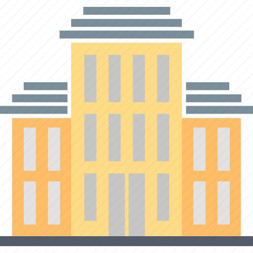 building, college, education, institution, learning, school, university icon