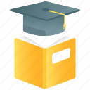 certificate, degree, diploma, education, graduate, graduation icon