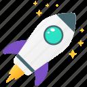 missile, rocket, rocket launch, spacecraft, spaceship, startup icon