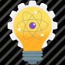 bright idea, creative idea, idea, innovation, new idea, scientific idea icon