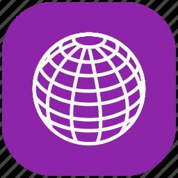 global, globe, international, map, marker, world, worldwide icon
