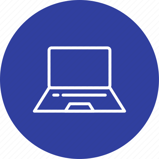 computer, device, laptop, screen icon